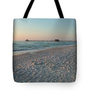 Pink Florida Sands Tote Bag