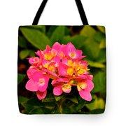 Pink Flower Austin Tote Bag