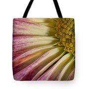 Pink Flower Macro Tote Bag
