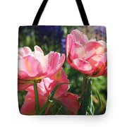 Pink Fluffy Tulips Tote Bag
