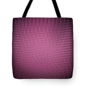 Pink Fractal Background Tote Bag