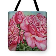 Pink Frillies Tote Bag