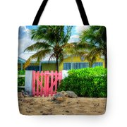 Pink Gate Tote Bag