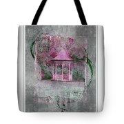 Pink Gazebo Tote Bag