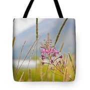 Pink Gem - Fire Weed Wildflower In Grand Teton National Park - Wyoming Tote Bag