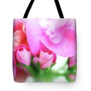 Pink Geranium Tote Bag