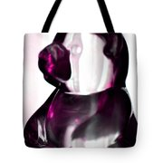 Pink Glass Bear Tote Bag