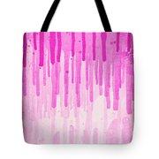 Pink Grunge Color Splatter Graffiti Backstreet Wall Background  Tote Bag