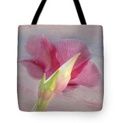 Pink Hibiscus Flower Tote Bag