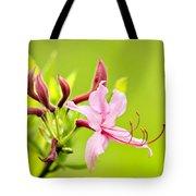 Pink Honeysuckle Flowers Tote Bag