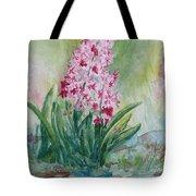 Pink Hyacint Tote Bag