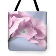 Pink Hydrangea Flower Macro Tote Bag