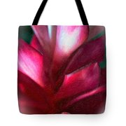 Pink Journey Impasto Tote Bag