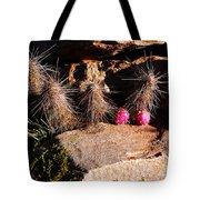 Pink Lady Cactus Tote Bag