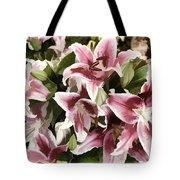 Pink Lilies I Tote Bag