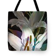 Pink Lily Dance Tote Bag