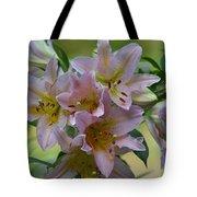 Pink Lily Fantasia Tote Bag