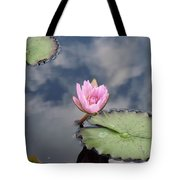 Pink Lily Monet Tote Bag