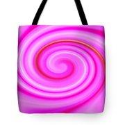 Pink Lollipop Swirl Tote Bag
