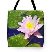Pink Lotus At Waikoloa Tote Bag