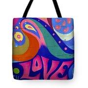 Pink Love Graffiti Nyc 2014 Tote Bag