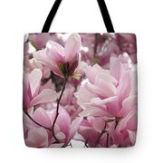 Pink Magnolia Blossoms Washington Dc Tote Bag