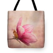 Pink Magnolia I Tote Bag