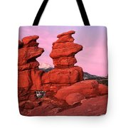 Pink Morning Tote Bag