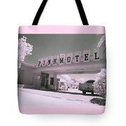 Pink Motel Tote Bag