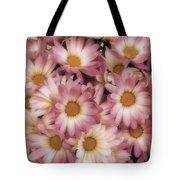 Pink Mums Tote Bag