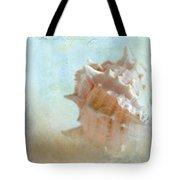 Pink Murex Seashell Tote Bag
