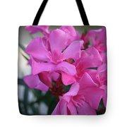 Pink Oleander Bunch Tote Bag