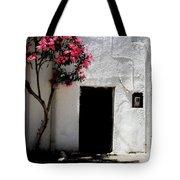 Pink Oleander By The Door Tote Bag