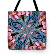 Pink Orchid Kaleidoscope 2 Tote Bag
