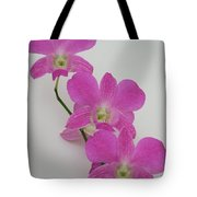 Pink Orchids 1 Tote Bag