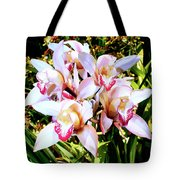 Pink Spirit Orchids Palm Springs Tote Bag