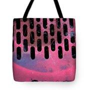 Pink Perfed Tote Bag