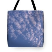 Pink Puffy Clouds Tote Bag