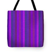 Pink Purple And Blue Striped Textile Background Tote Bag