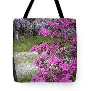 Pink Purple Mississippi Blooms Tote Bag