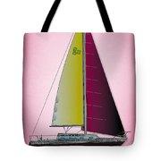 Pink Retru Tote Bag