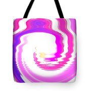Pink-reunion Island-indian Ocean Tote Bag