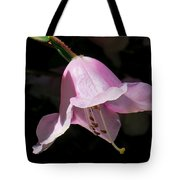 Pink Rhododendron Blossom Tote Bag