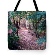 Pink Road Tote Bag