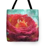 Pink Rose - Digital Paint II Tote Bag