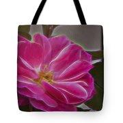 Pink Rose Digital Art 2 Tote Bag