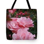 Pink Rose Group I Tote Bag