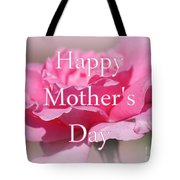 Pink Rose Mother's Day Card Tote Bag