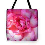 Rose With Touch Of Pink Tote Bag