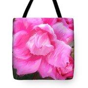 Pink Rose Painting  Tote Bag